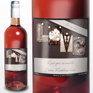 Affection Art Love Rose Wine