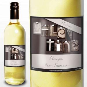 Affection Art Valentine White Wine