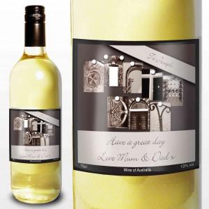 Affection Art Birthday White Wine