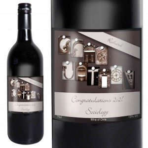 Affection Art Graduation Red Wine with Gift Box