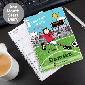 Bang on the Door Football Crazy Diary