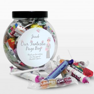 Fabulous Pageboy Sweet Jar
