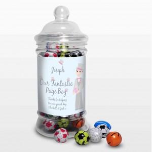 Fab Pageboy Choc Balls Jar
