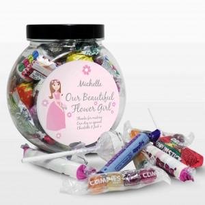 Fabulous Flowergirl Sweet Jar
