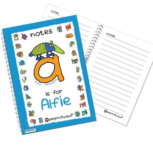 Bang On The Door Animal Alphabet Boys Notebook