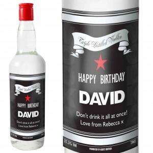 Classic Black & Silver Vodka