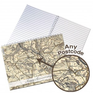 1896 - 1904 Revised New Map Notebook