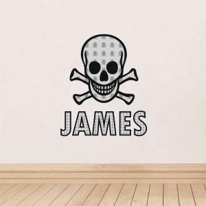 Skull & Bones Wall Art