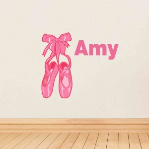 Ballerina Shoes Wall Art