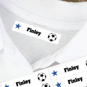 Football Iron-on Labels