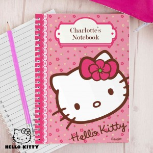 Hello Kitty Floral Notebook