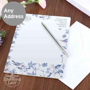 Country Diary Blue Blossom Stationery Set