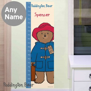 Paddington Bear Height Chart