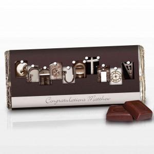 Affection Art Graduation Chocolate Bar