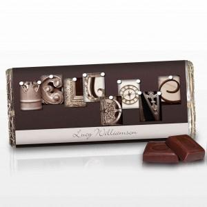 Affection Art Well Done Chocolate Bar