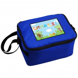 Animal Letter Lunch Bag Blue