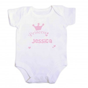 Princess Baby Vest