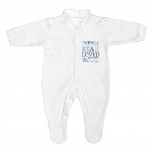 Twinkle Boys 0-3 Months Babygrow