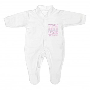 Twinkle Girls 0-3 Months Babygrow