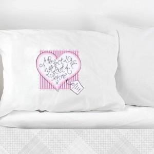 Heart Stitch A Perfect Love Pillowcase