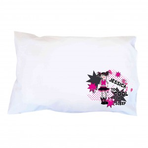 Too Cool Girl Pillowcase