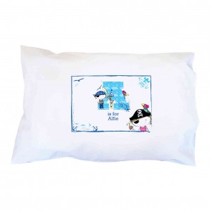 Pirate Letter Pillowcase