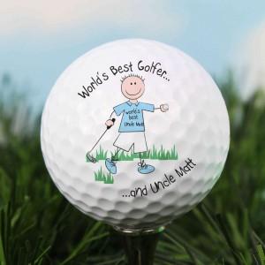 World's Best Golfer Golf Ball