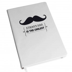 Moustache Hardback A5 Notebook