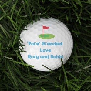 Flag Golf Ball