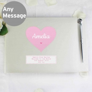 Stitch & Dot Girls Guest Book