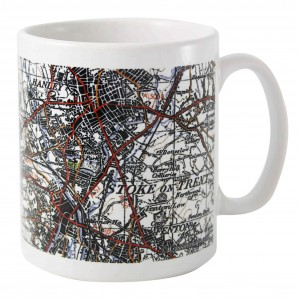 1945 - 1948 New Popular Edition Map Mug