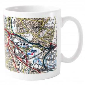 Present Day Edition Map Mug