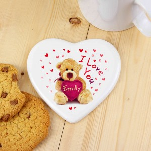 Teddy Heart Coaster