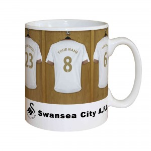 Swansea City A.F.C. Dressing Room Mug