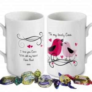 Love Birds Windsor Mug