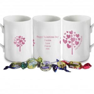 Love Grows Pink Windsor Mug