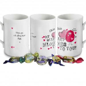 Monster Heart Windsor Mug