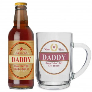 Luxury Beer & Tankard Set