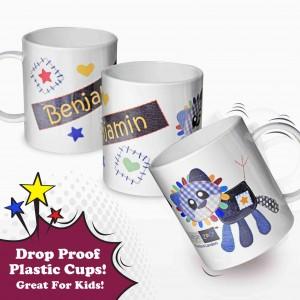 Cotton Zoo Denim the Lion Plastic Cup