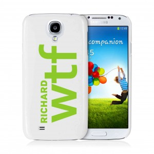 WTF Slogan Samsung S4 Case