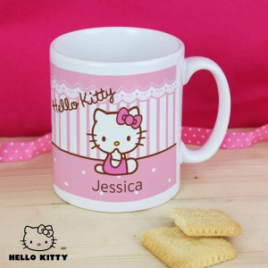 Hello Kitty Bow Plastic Mug
