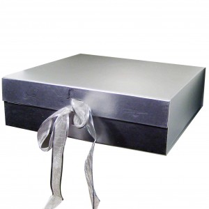 Silver Presentation Gift Box - Suitable for Breakfast Sets