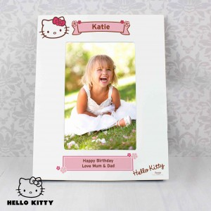 Hello Kitty Floral 6x4 Photo Frame