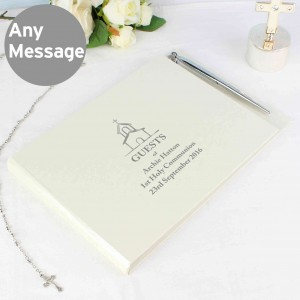 Hardback Guest Book Church Design