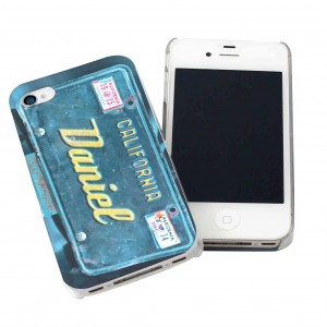 California Plate iPhone Case