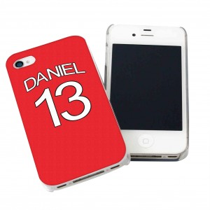 Arsenal Style Shirt iPhone Case