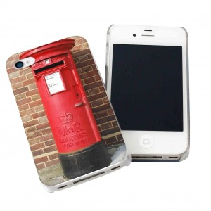 Red Postbox iPhone Case