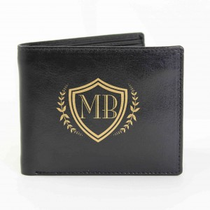 Black Shield Wallet