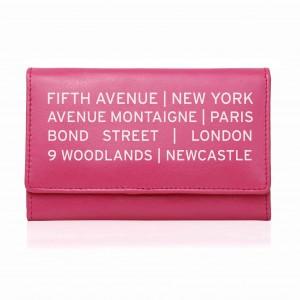Pink Shopping Destination Purse