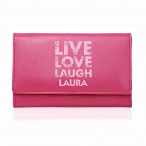 Pink Live Laugh Love Pink Purse